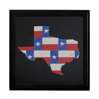 Texas Art Large Square Gift Box