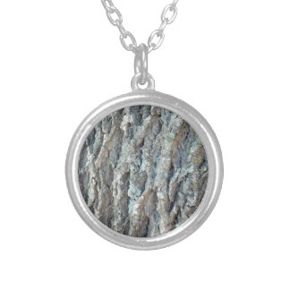 Texas Ash Tree Silver Plated Necklace