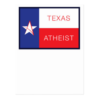 Texas Atheist Postcard