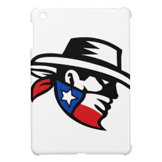 Texas Bandit Cowboy Side Retro Cover For The iPad Mini