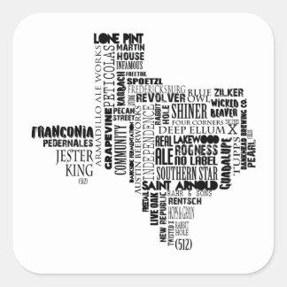 Texas Beer Lovers Sticker