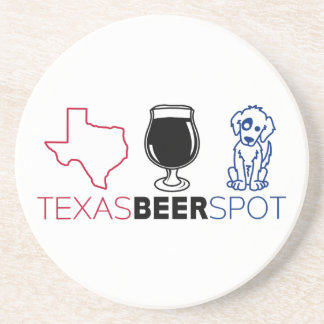 Texas Beer Spot Drink Coaster