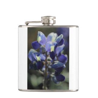 Texas Bluebonnet Flask