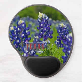 TEXAS BLUEBONNET GEL MOUSE PAD