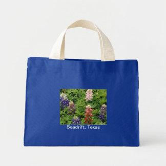 Texas Bluebonnet Little Tote Mini Tote Bag