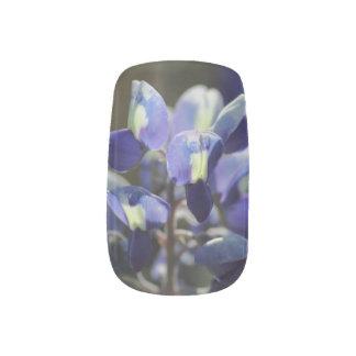 Texas Bluebonnet Minx ® Nail Art
