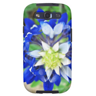 Texas Bluebonnet Top View Galaxy SIII Case