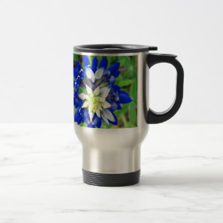Texas Bluebonnet Top View Mugs