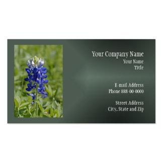Texas Bluebonnet Wildflower Business Card