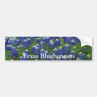 Texas Bluebonnets Field Photo Car Bumper Sticker