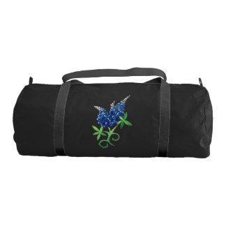 texas bluebonnets gym bag