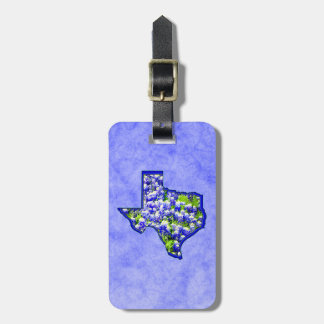 TEXAS BLUEBONNETS TAGS FOR LUGGAGE
