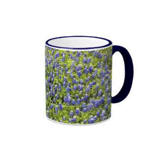 Texas Bluebonnets Ringer Mug