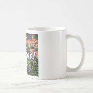 Texas Bluebonnets Paintbrushes Coffee Mug