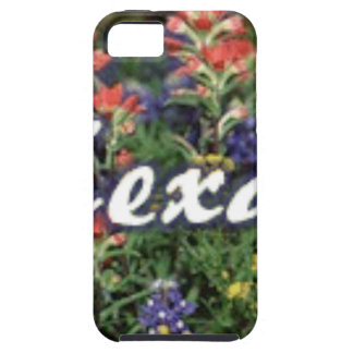 Texas Bluebonnets Paintbrushes Tough iPhone 5 Case