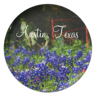 Texas Bluebonnets Plate