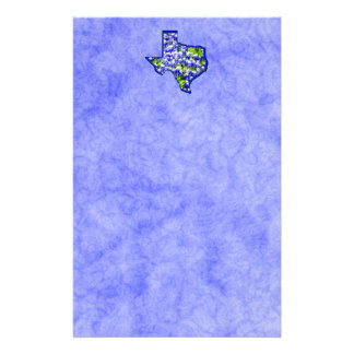 TEXAS BLUEBONNETS PERSONALIZED STATIONERY
