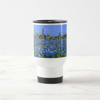 Texas Bluebonnets Travel Mug Stainless Steel