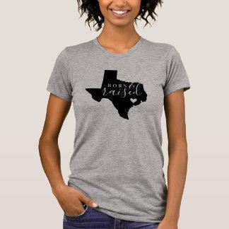 Texas Born and Raised State Tee