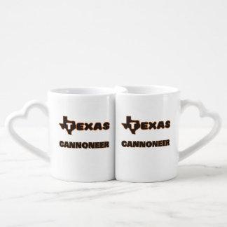 Texas Cannoneer Couples Mug