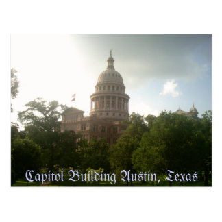 Texas Capitol Building - Postcard