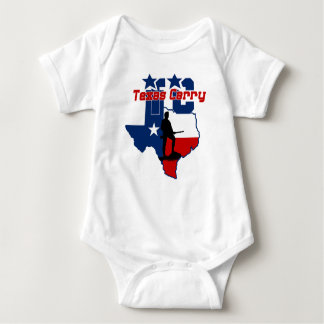 Texas Carry Baby Bodysuit