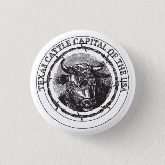 Texas Cattle Capital of the USA badge