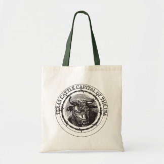 Texas Cattle Capital of the USA tote