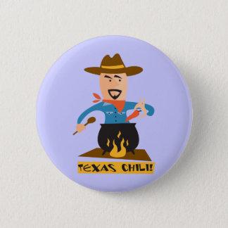 Texas Chilli 6 Cm Round Badge