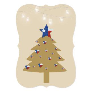 Texas Christmas Tree Card