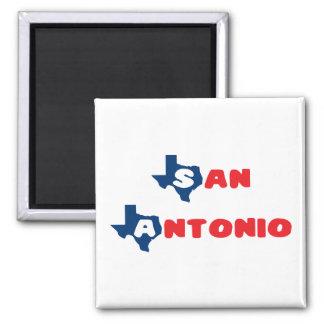 Texas Cites San Antonio Square Magnet