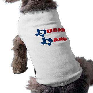 Texas Cities Sugar Land Sleeveless Dog Shirt