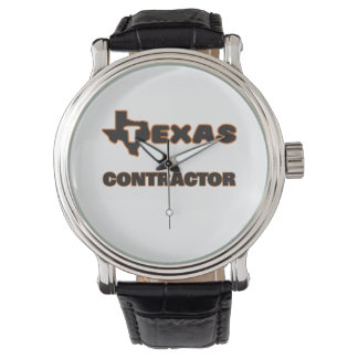 Texas Contractor Wrist Watches