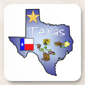 Texas Cork Coaster