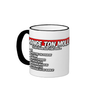 texas couscous chili ball ringer mug