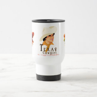 """Texas Cow Girls"" Travel Mug"