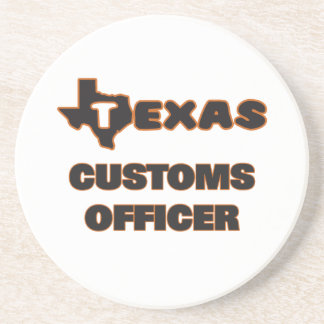 Texas Customs Officer Coasters
