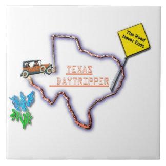 Texas Daytripper Ceramic Tile