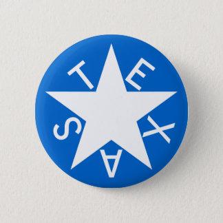 Texas De Zavala Flag Pen 6 Cm Round Badge