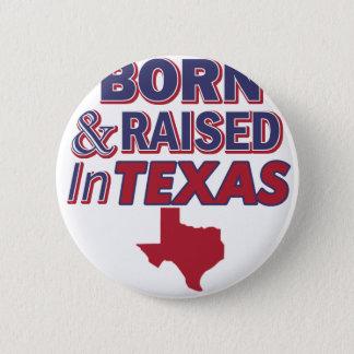 Texas design 6 cm round badge