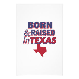 Texas design stationery