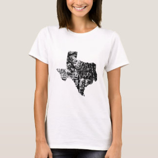 Texas Distressed Womens Shirt