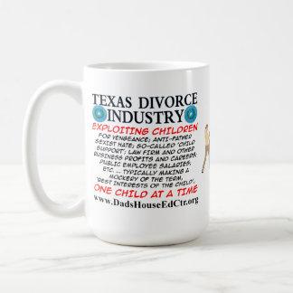 Texas Divorce Industry. Basic White Mug