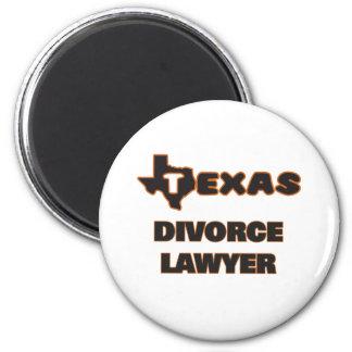 Texas Divorce Lawyer 6 Cm Round Magnet