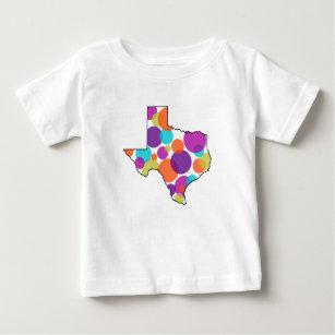 Texas Dots Baby T-Shirt