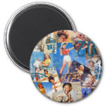 Texas Eclectic : Cowgirl Collection No. 1 Refrigerator Magnets