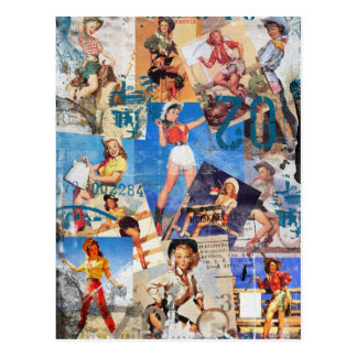 Texas Eclectic : Cowgirl Collection No. 1 Postcard