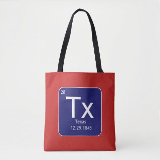 Texas Element All Over Print Tote Bag