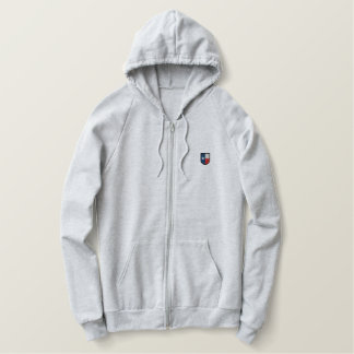 Texas Embroidered Zip up Hoodie