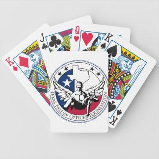 Texas Fallen Officer Foundation Poker Deck